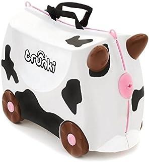 Trunki Frieda Cow Ride-On Suitcase, White
