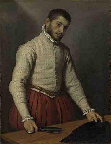 Giovanni Battista Moroni The Tailor (Il Tagliapanni) A4 10x8 Photo Print Poster