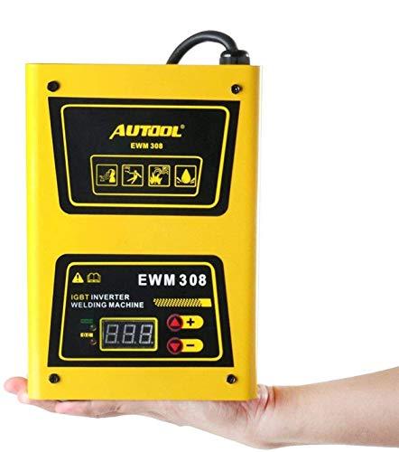 AUTOOL EWM-308 Soldadora Inverter Arco IGBT, AC 220V 20-140Amp Equipo de Soldadura Máquina Portátil