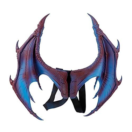 Alas de dragón para Halloween, unisex, disfraz de Halloween, carnaval, cosplay, alas de dragón, disfraz de alas de dinosaurio, alas de dinosaurio y alas, accesorio para cosplay de Halloween y Navidad