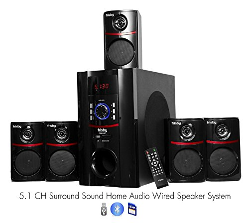 Frisby FS5010BT 800Watt Bluetooth 5.1 Surround Sound Home Theater Speaker System