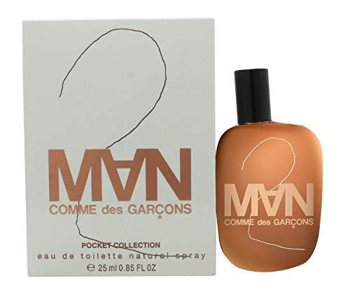 Comme Garcon 2 homme/men, Eau de Toilette, Vaporisateur/Spray, 1er Pack (1 x 25 ml)