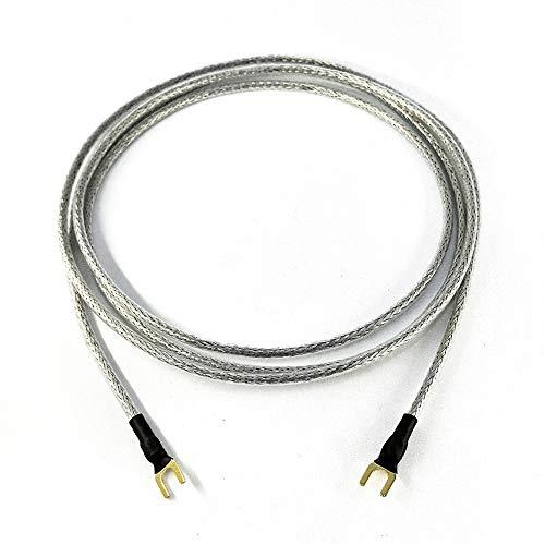 Cable de Tierra 1 x 0,50 mm2 para Tocadiscos Dispositivos de