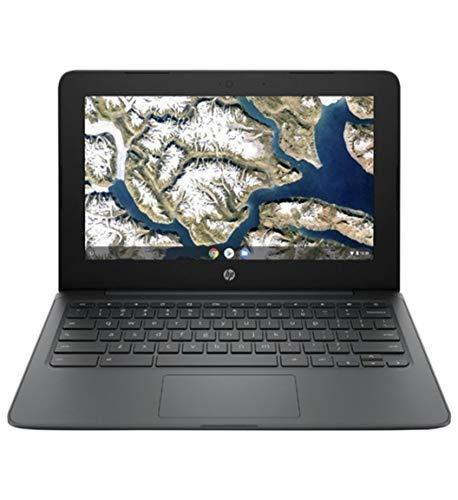 HP 11.6'' Chromebook HD Anti-glare Display Laptop PC, Intel Celeron N3350 up to 2.4GHz Processor, 4GB LPDDR4, 32GB eMMC, WiFi, Webcam, Stereo Speakers , Bluetooth, Google Chrome OS w/Tigology Mousepad