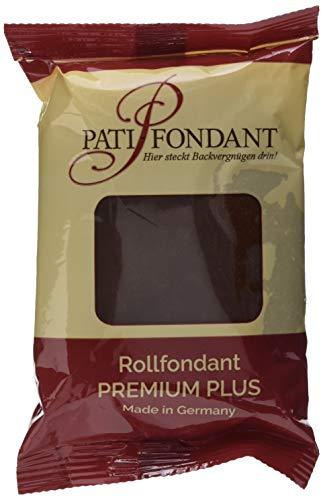 Pati Versand Rollfondant PREMIUM PLUS schokobraun, 1er Pack (1 x 250 g)