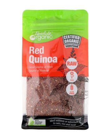Sacramento Mall NT# Absolute Organic Red Quinoa is 400G very nutritious -Quinoa Free Shipping New