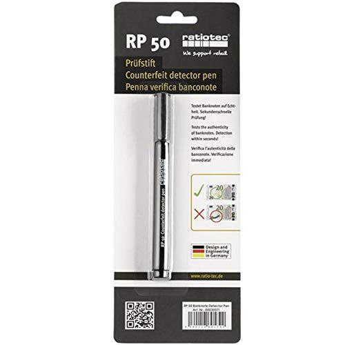 Rotulador detector de billetes falsos Ratiotec RP 50