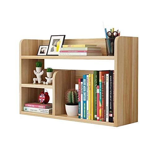 Sala de estar BookCases Desktop Pantalla Estante de estantería Estante Multiusos Oficina Documento Documento Mueble Mueble Escritorio Escalera de Elevación para Niños Rack AOIWE ( Size : 50*20*45cm )
