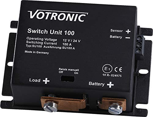 Votronic Switch Unit 100 12V / 24V Batterie Hauptschalter