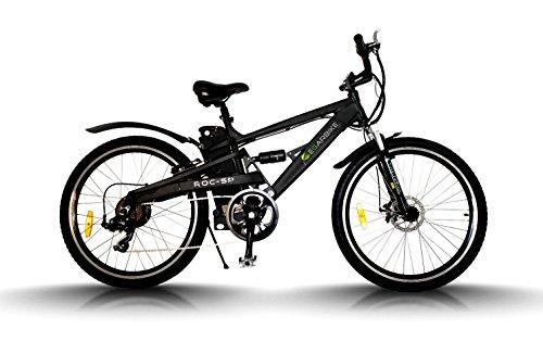 Bicicleta eléctrica Egarbike ROC SP DOBLE SUSPENSION 36V 10ah MTB 7 SP 360wh LIFEPO4