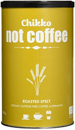 Chikko Not Coffee BIO Geröstetem Dinkel Kaffee (Instant) , 3er Pack (3 x 100 g)