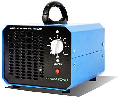 Amazono | OZONO | Generador de Ozono | Generador de Ozono Industrial de Alto Flujo | 100 w | Produce 10.000 MG/h (10 GR/H) de ozono