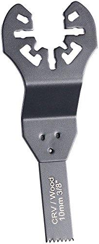 AGT Professional Sägeblatt: Standard-Tauchsägeblatt für Multitools, 10 mm, CRV, Schnellspannung (Multitool Zubehör)