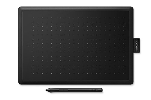 Wacom One by Medium Tableta digitalizadora 2540 líneas por Pulgada 216 x 135 mm USB Negro - Tableta gráfica (Alámbrico, 2540 líneas por Pulgada, 216 x 135 mm, USB, Pluma, 133 pps)