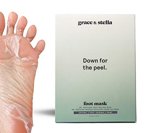 Maschera per il piede Esfoliazione Pedicure | Per i piedi morbidi lisci del bambino, la pelle secca, i talloni di riparazione, il dispositivo di rimoz