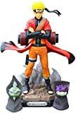 Huhu Naruto Shippuden Uzumaki Naruto Figura Juguetes Modo Sennin con Shima Fukasaku Figura de PVC Mo...