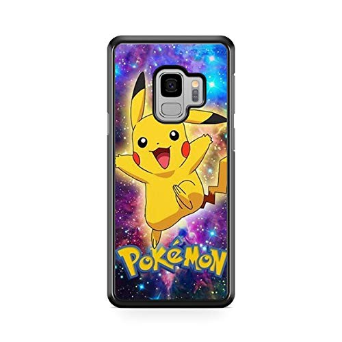Coque pour Samsung Galaxy S9 Pokemon go Team Pokedex Pikachu Manga Tortank Game Boy Color Salameche Noctali Valor Mystic Instinct Case + Stylet + Lingette de Nettoyage Ecran 23