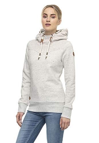 Ragwear Sweater Damen NUGGIE Sweat 2021-30031 Beige White 7000, Größe:M