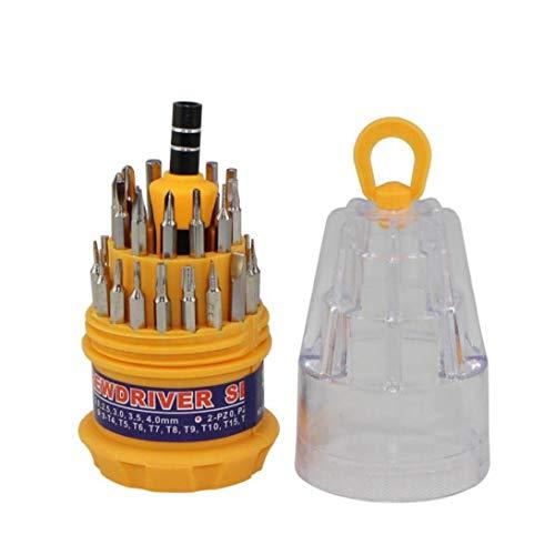 PiniceCore 31 En 1 Reparación Magnética del Kit del Destornillador Electrónica del De Herramienta del Destornillador bits para Ordenador Reloj Teléfono Herramienta De Reparación