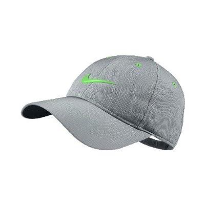 03191284c4a Nike Golf Contrast Stitch Cap – Stadium Grey Poison Green ...