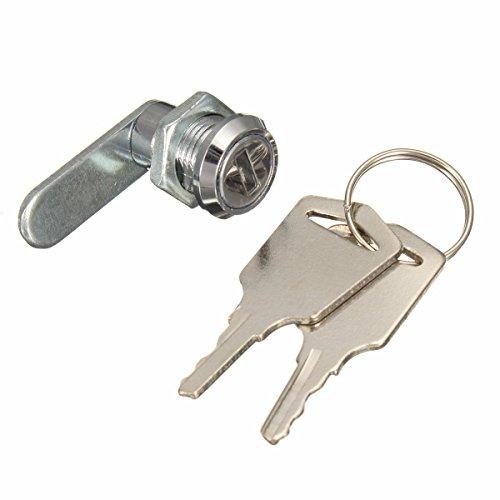 ILS - 16mm gesleutelde Alike Cam Lock voor het indienen van kast brievenbus lade kast met 2 sleutels