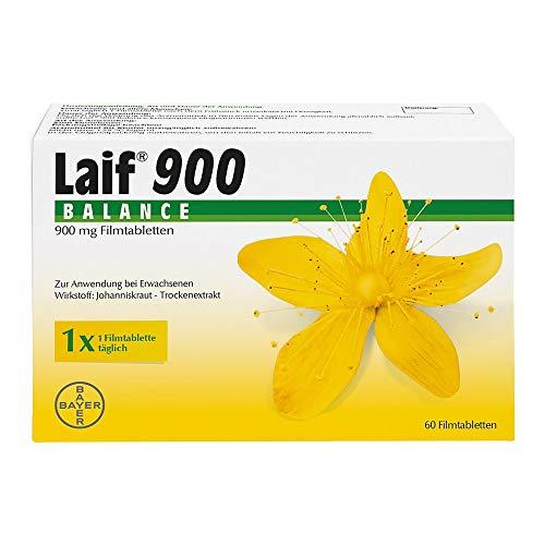 Laif 900 Balance Filmtabletten, bei Antriebslosigkeit, innerer Unruhe und seelisch bedingten Schlafstörungen, 60 Stück
