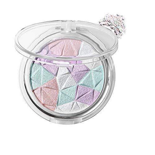 Allbestaye Diamond Highlight Puder Glow Make-up Bronzer Wasserfest Shimmer Glitter Contouring