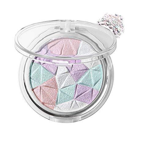 Allbestaye Diamond Highlight Puder Glow Make-up Bronzer Wasserfest Shimmer Glitter Contouring