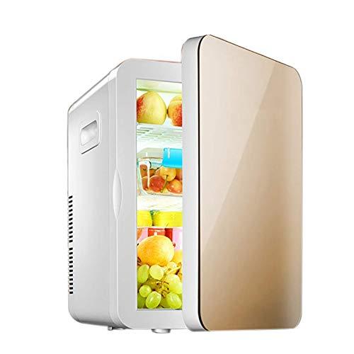 wangt compacte mini-koelkast, 12 V DC, 220-240 V AC autokoelkast, koelt 20 liter inhoud, koelbox voor auto- en thuisgebruik