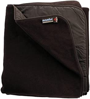 Mambe Large Super Extreme Weather Warm and Thick 100% Waterproof/Windproof Outdoor Blanket and Stadium Blanket with Premium Stuff Sack Made in The USA