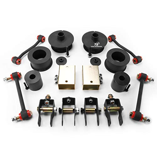 """Takeo Front 3.5"""" / Rear 3.0"""" Leveling Lift Kit Fits Jeep Wrangler JL 2019-2020 2WD 4x2 4WD 4x4"""