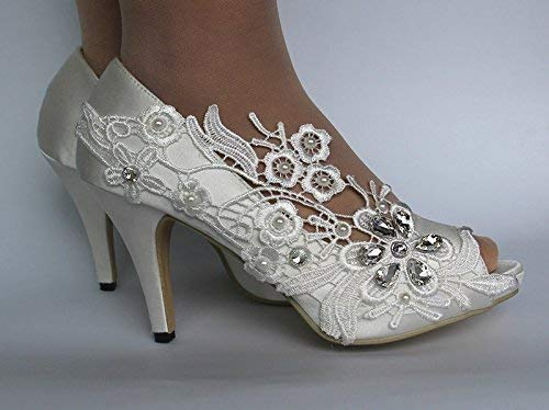 White Satin Shoe Laces 42