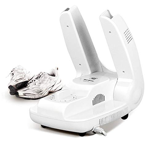 LAHappy Secador Des Botas La Solución para Calzado Húmedo O Que Huele Secador Botas Esqui Secador Eléctrico Secadora Electrica Secador De Zapatos,Blanco