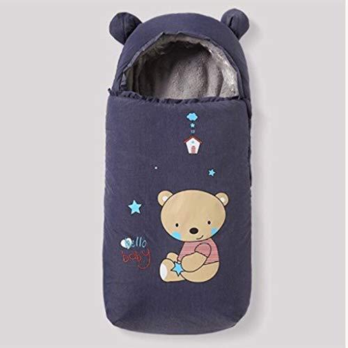 Bulawlly Mothercare Cochecito de niño del bebé Saco Universal Cochecito de bebé Lana Forrada Snuggly Saco Conector Universal para sillas de Paseo de los cochecitos de los cochecitos de niño,Gris