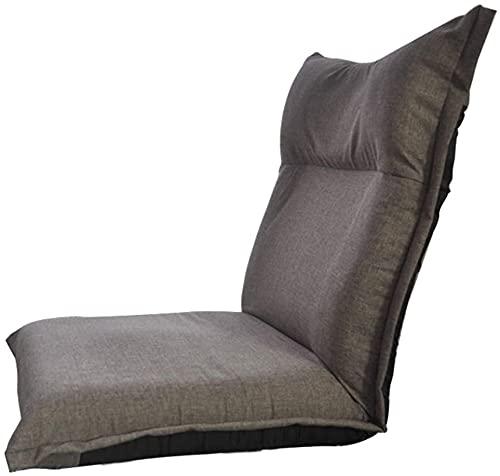JJSFJH Poltrona Lazy Sofa, Single Pieghevole Divano Letto Sedia Moderna Tessuto Sleep Funzione per la casa per la casa Camera da Letto Soggiorno Ufficio Interni