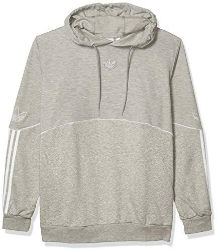 adidas Originals Men's Outline Fleece Hoodie Sweatshirt