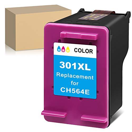 ATOPolyjet 301 XL Remanufactured Druckerpatronen für HP 301XL Tintenpatronen für Deskjet 1000 2050 2510 2540 3050 Envy 5530 4500 4507 5532 4502 5534 4504 Officejet 2620 2622 4630 4632 (1 Tri-Colour)