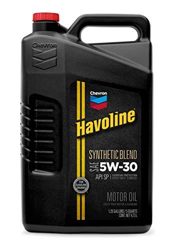 Havoline 223394474 5W-30 Motor Oil - 5 qt.,...
