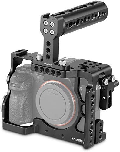 SMALLRIG Camera Cage for Sony Alpha A7 II/A7R II/A7S II Mirrorless Digital Camera with Top Handle and HDMI Cable Lock - 2014