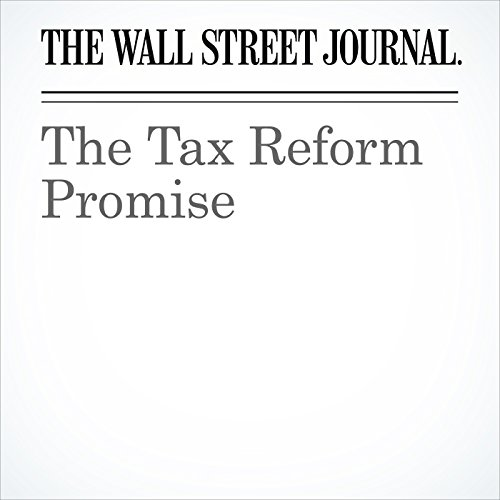 The Tax Reform Promise copertina
