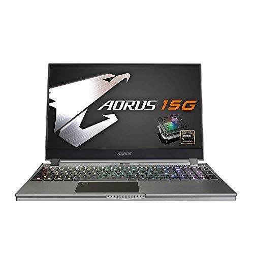 Gigabyte Laptop 38,1 cm Gaming mit mechanischer Tastatur – AORUS 15G WB-8FR6150MH