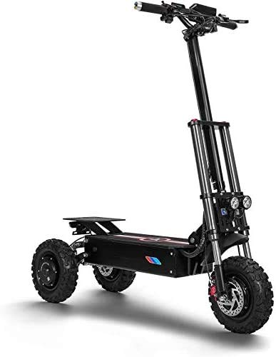 XINTONGSPP Eléctrica Off-Road Drive Dual-Triciclo, 1200W 60V 31Ah portátil cómodo Resistente al Desgaste Mini Scooter eléctrico, Adulto Uso al Aire Libre/Necesidades diarias de la Oficina