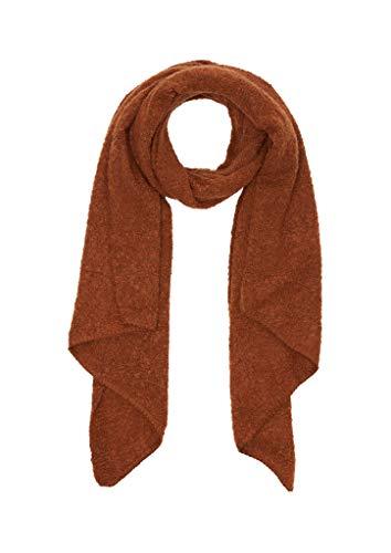 s.Oliver Damen 201.11.899.16.277.1249656 Winter-Schal, Brown Knit, 1