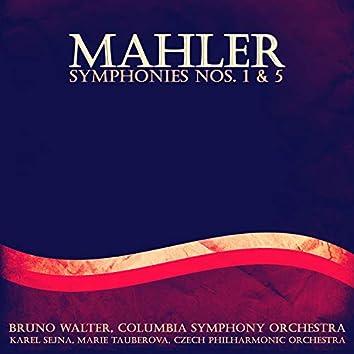 Mahler: Symphonies, No. 1 & 5
