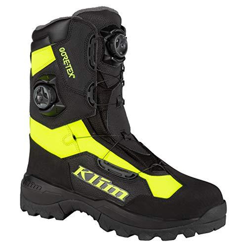 KLIM Adrenaline Pro GTX BOA Boot 14 Black - Hi-Vis