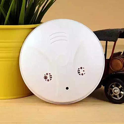 Weesey Mini Spion Kamera Rauchmelder Haus Überwachungskamera mit Bewegungsmelder und Fernbedienung