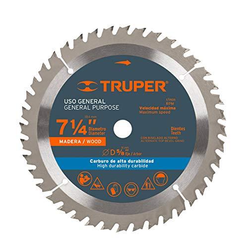 disco sierra circular para aluminio fabricante TRUPER