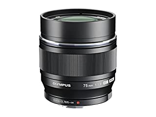 Olympus M.Zuiko Objectif Digital ED 75mm F1.8, focale fixe lumineuse, compatible tout appareil Micro 4/3 (modèles Olympus OM-D & PEN, Panasonic série G), Noir (B00CPLQ8MG) | Amazon price tracker / tracking, Amazon price history charts, Amazon price watches, Amazon price drop alerts