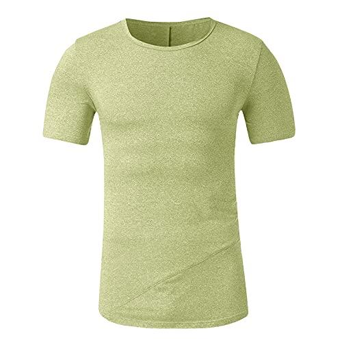 T-Shirt Homme Été Chemise à Manches Courtes Col Revers Imprimé Hawaïenne Casual Loisirs Tee Blouse Tops de Plage Voyager