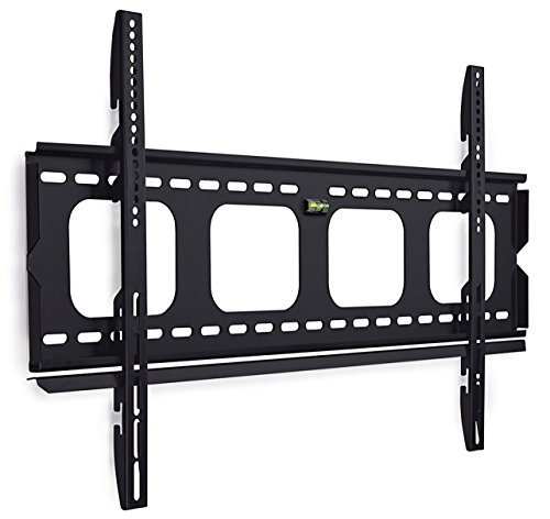 Mount-It! MI-305L Premium Low-Profile Fixed TV Wall Mount Bracket for 42-70 inch LCD, LED, 4K Flat Screen TVs Capacity 220 lbs, Max VESA 850x450